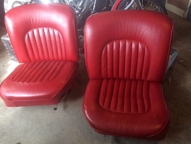mk2 jaguar seats after