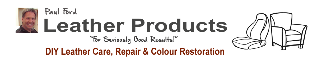 Leather care, repair and restoration products