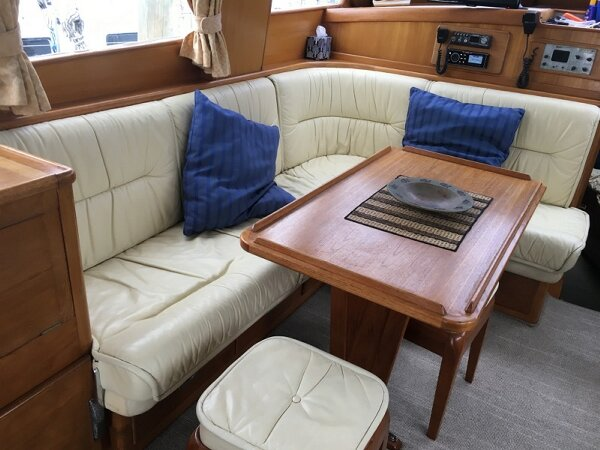Leather Boat Interior finished