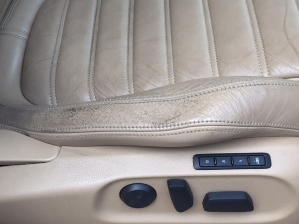 Worn Passat Leather Seats