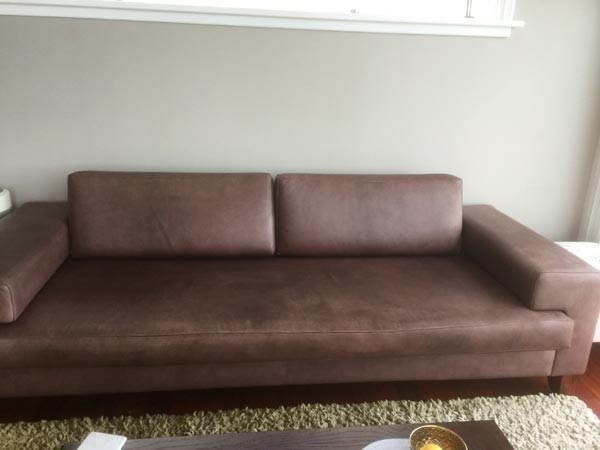 brown couch before