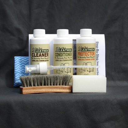 triple pack leather care kit